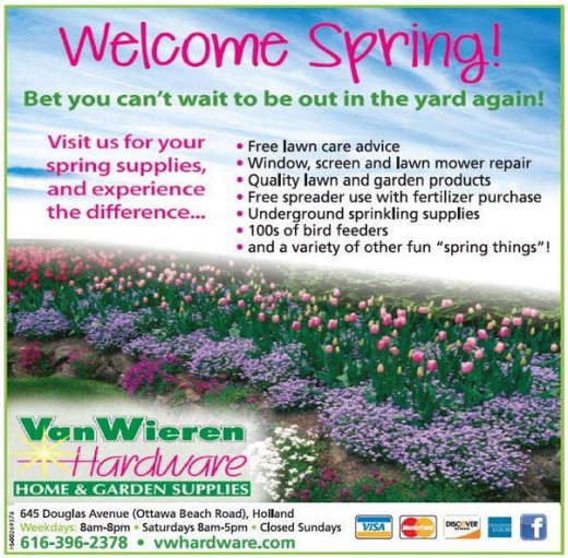 welcome spring 2019